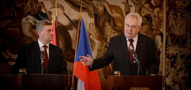 Projev prezidenta republiky na tiskové konferenci s makedonským prezidentem Gjorgem Ivanovem