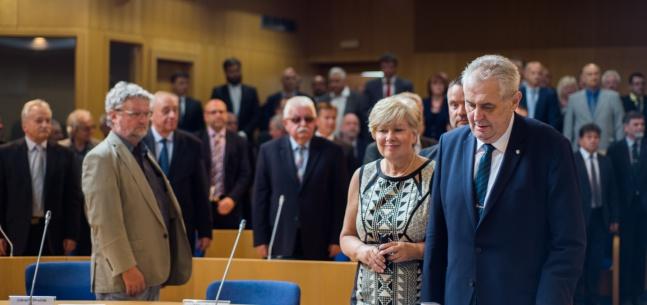 Projev prezidenta republiky při setkání se zastupiteli Jihočeského kraje