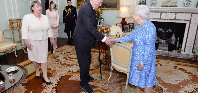 Projev prezidenta republiky při tiskové konferenci po audienci u královny Velké Británie a Severního Irska