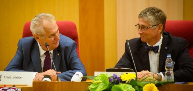 Projev prezidenta republiky při setkání se zastupiteli Moravskoslezského kraje