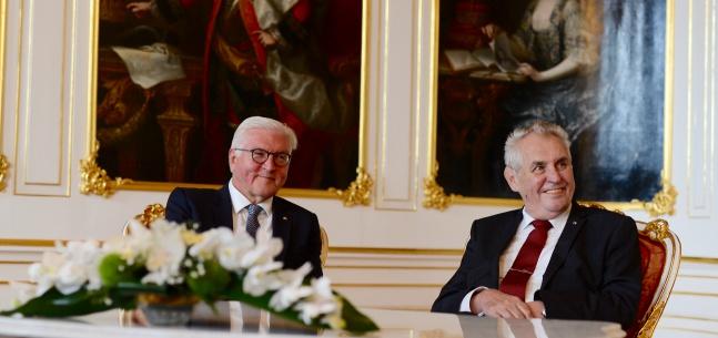 Projev prezidenta republiky při tiskové konferenci u příležitosti návštěvy německého prezidenta v Praze