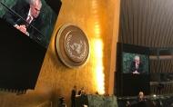 Projev prezidenta republiky v rámci 72. zasedání Valného shromáždění OSN