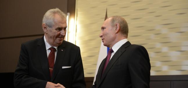 Projev prezidenta republiky při setkání se zástupci tisku v Soči k oficiální návštěvě v Ruské federaci