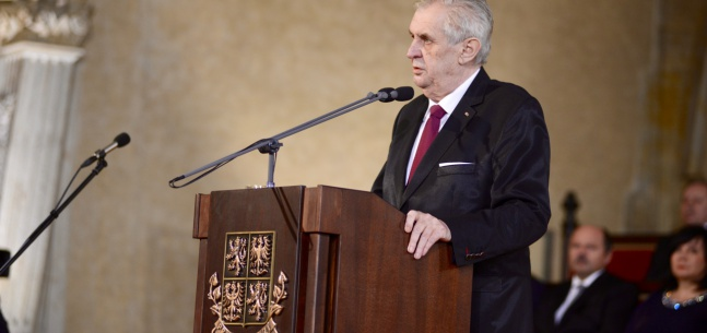 Inaugurační projev prezidenta republiky