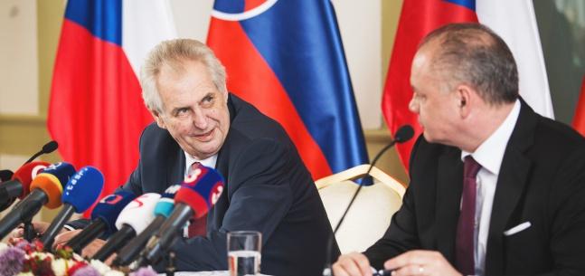 Projev prezidenta republiky při tiskové konferenci k oficiální návštěvě Slovenské republiky