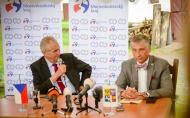 Projev prezidenta republiky při tiskové konferenci k ukončení návštěvy Moravskoslezského kraje