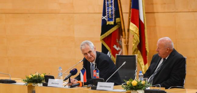 Projev prezidenta republiky při setkání se zastupiteli Ústeckého kraje
