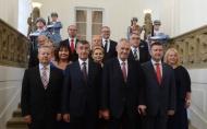 Projev prezidenta republiky při jmenování členů vlády České republiky