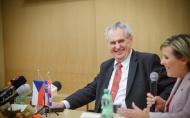Projev prezidenta republiky při setkání se zastupiteli Karlovarského kraje