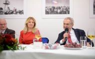 Projev prezidenta republiky při otevření Českého domu v Bratislavě