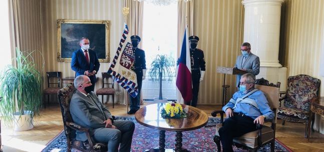 Projev prezidenta republiky při jmenování ministra zdravotnictví ČR