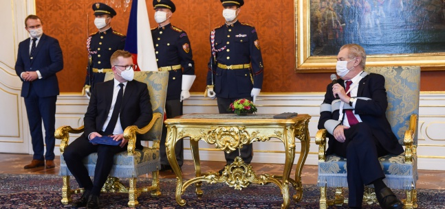 Projev prezidenta republiky při jmenování předsedy Úřadu pro ochranu hospodářské soutěže