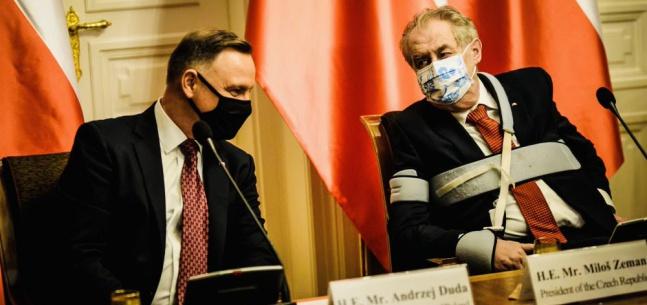 Projev prezidenta republiky při tiskovém brífinku po setkání s polským prezidentem