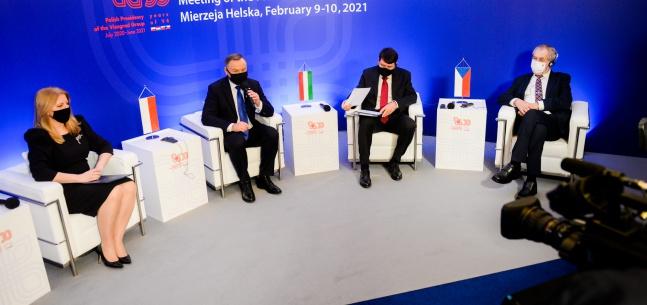 Projev prezidenta republiky při tiskové konferenci na závěr ukončení pracovní návštěvy v Polsku