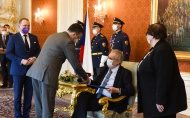 Projev prezident republiky při jmenování místopředsedy Nejvyššího soudu ČR