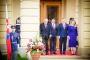 Setkání prezidentů zemí V4 na zámku v Lánech